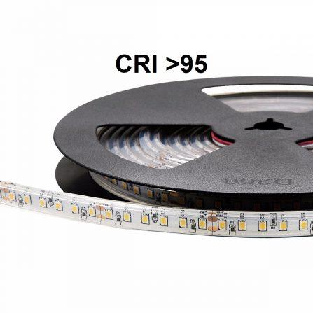 Professione Led - STRISCIA LED 5 MT SMD 2835 600LED IP67 9.000 Lm DC 24V}